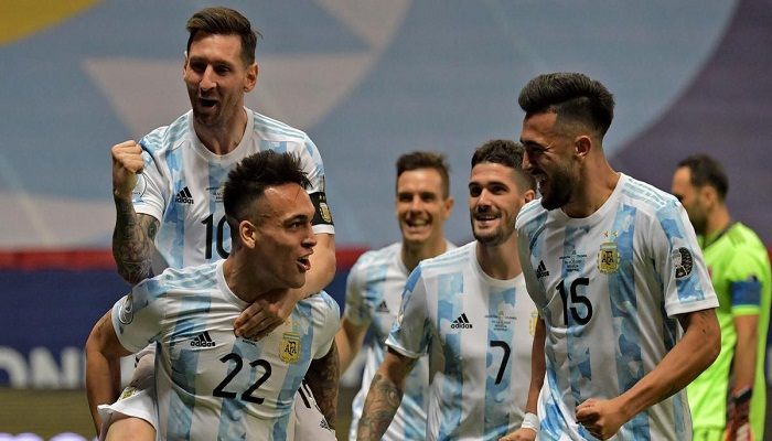 Argentina beat Colombia on penalties to set up dream final against Brazil