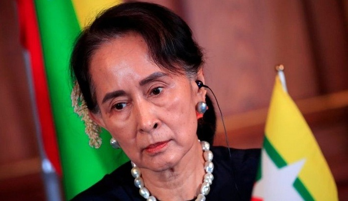 Myanmar's Aung San Suu Kyi fully vaccinated amid spike in cases