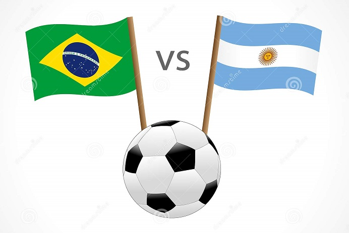 Brazil, Argentina fans fight in B'baria, 4 injured