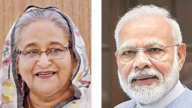 Modi touched by mangoes from Bangladesh PM