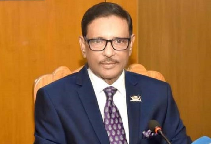 Opposition parties have responsibility during COVID-19 crisis: Quader