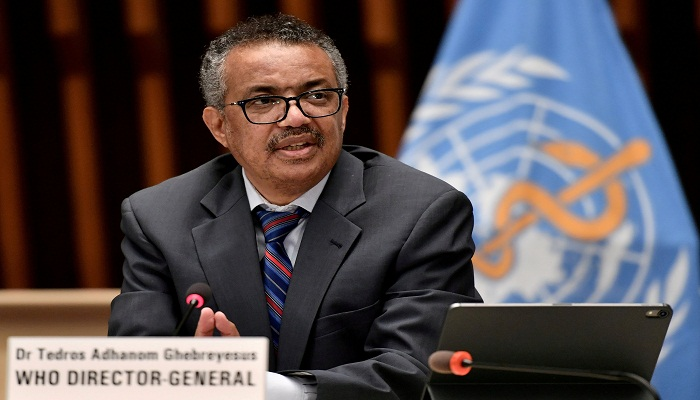 WHO chief describes current stage of coronavirus pandemic as 'very dangerous'
