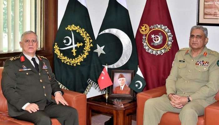 Pakistan, Turkey vow to further enhance military-to-military ties
