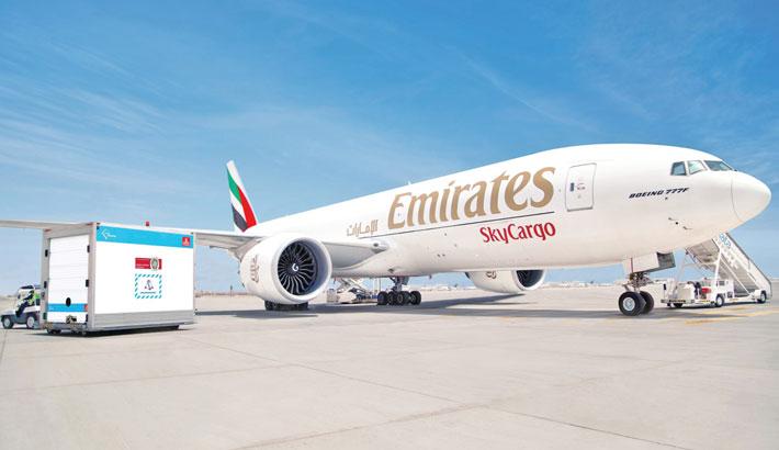 Emirates SkyCargo transports 150m doses of Covid-19 vaccine