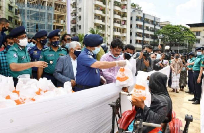 Helpless people are part of community: IGP