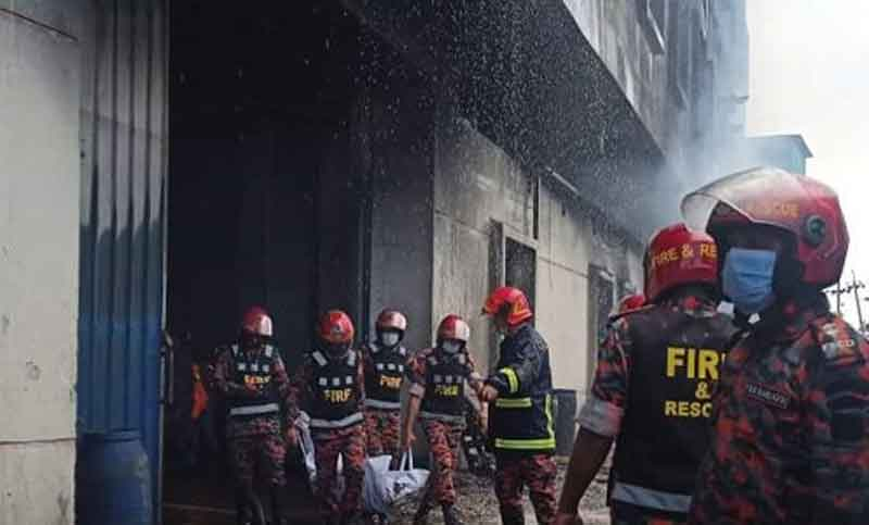 N'ganj fire: 49 bodies recovered