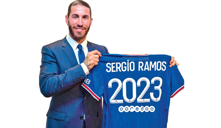 Ramos joins PSG on two-year contract