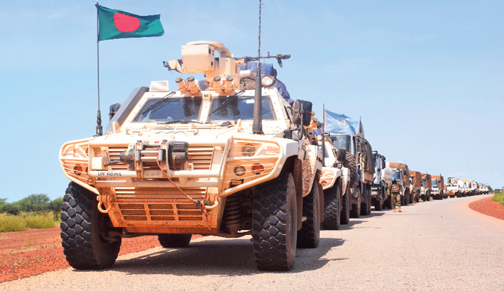 Bravery of Bangladeshi search and detection team in Mali
