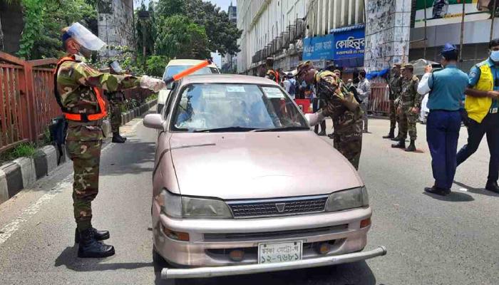 Breaching Lockdown: 585 arrested, Tk 8.9 lakh realised in fines