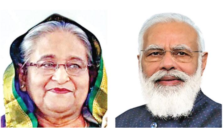 Modi moved by Hasina's gift