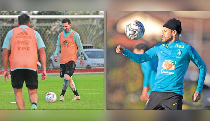 Messi, Neymar battle in dream Copa final