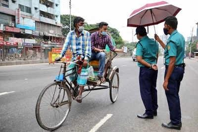 Lockdown: 791 people arrested, 361 vehicles fined Tk 9 lakh