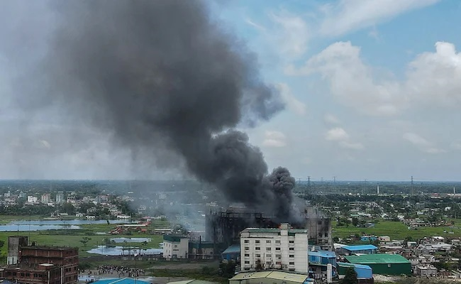 No end to factory fire!