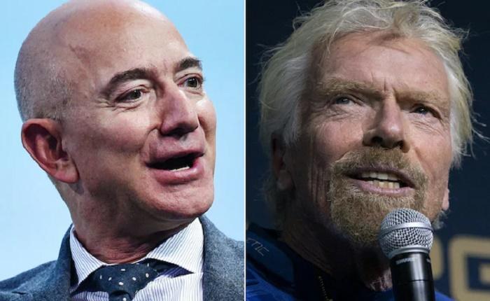 Final frontier: Billionaires Richard Branson, Jeff Bezos bound for space