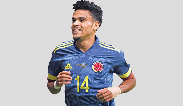 Colombia finish third after Diaz stunner
