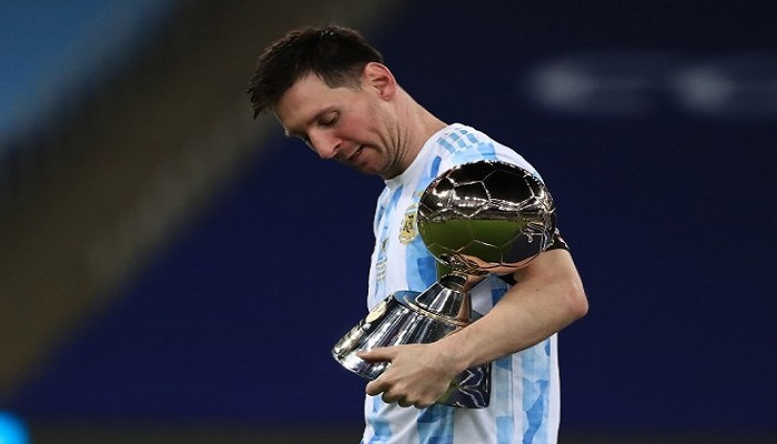 Lionel Messi wins 2021 Copa America Golden Boot and Player of the Tournament