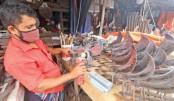 Blacksmiths worried over falling sales in peak season