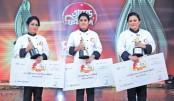 Sadia wins Shera Radhuni 1427 title