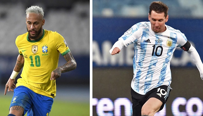 Messi and Neymar picked as best players at Copa America