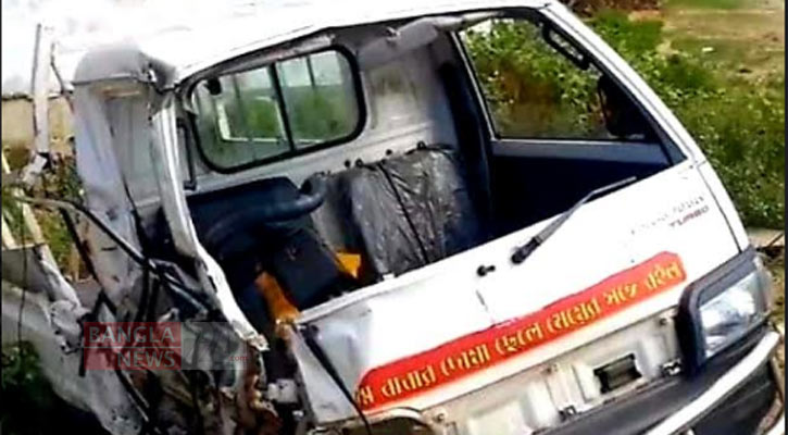 2 killed as truck, pick-up collide in Gaibandha