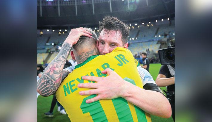 Messi destroys Neymar's dream