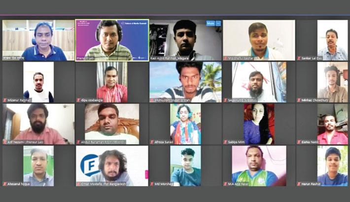 Workshop on mobile journalism
