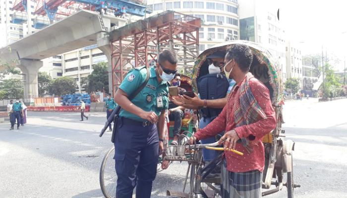 604 people held in city during lockdown