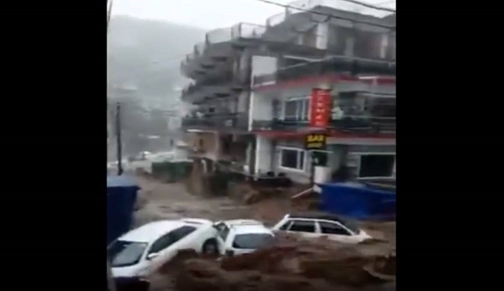 Flash floods reported in India's  Himachal Pradesh