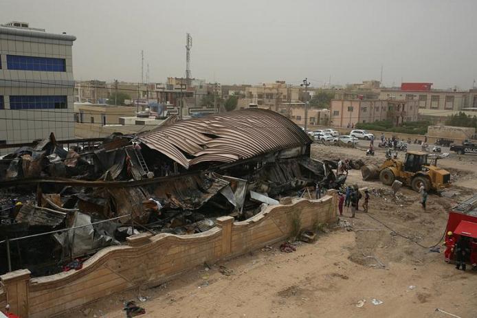 Death toll rises to 92 in fire at Iraqi coronavirus ward