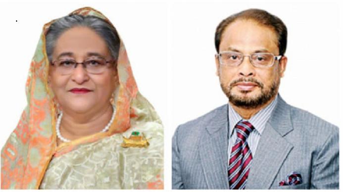 GM Quader greets PM ahead of Eid-ul-Azha