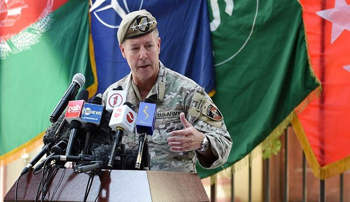 Top US general in Afghanistan steps down