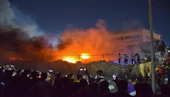 Death toll rises to 64 in Iraq Covid unit fire: medic