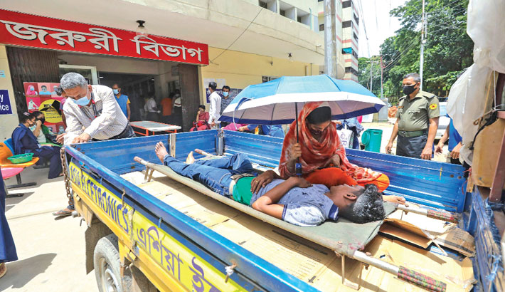 Ctg hospitals crowded with corona patients