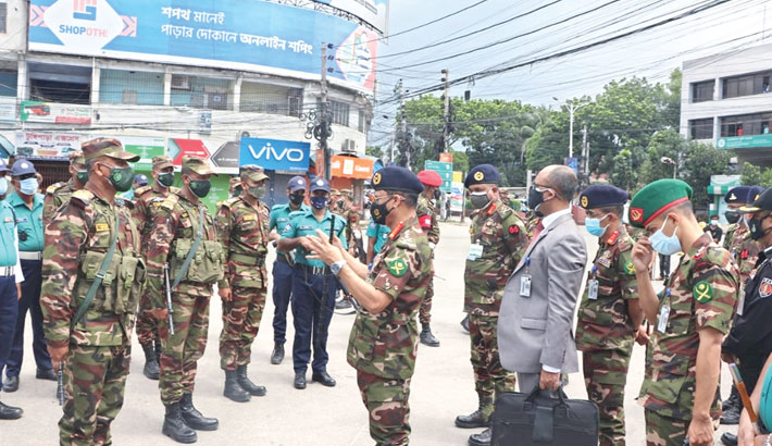 Army chief inspects army patrol activities in Khulna