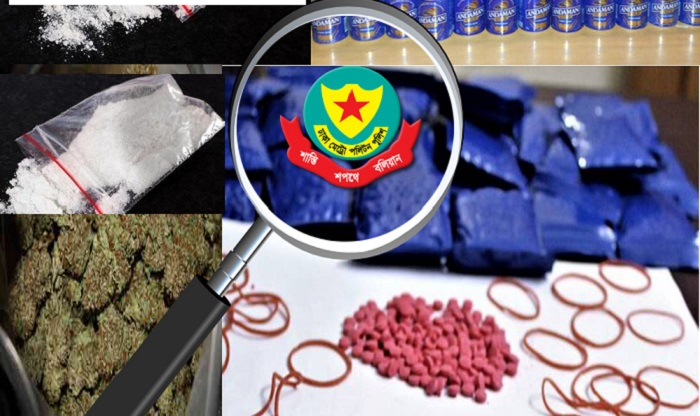 38 held for selling, consuming drugs in city