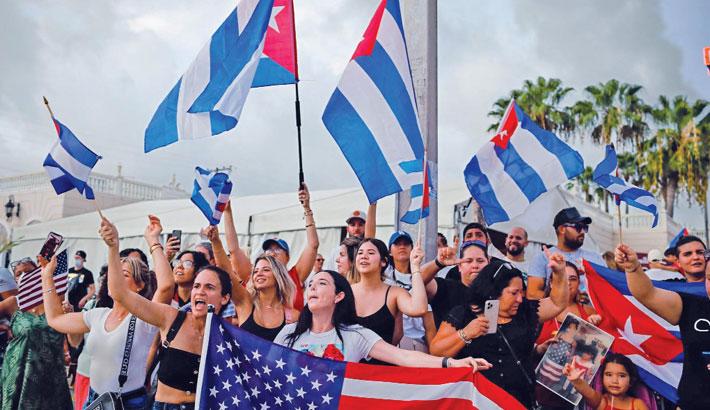 Dozens arrested after Cuban anti-govt protests