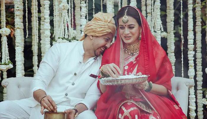 Dia Mirza and Vaibhav Rekhi welcomed a baby boy