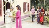 Jamindar Bari, a drama serial, will be aired on Boishakhi  TV at 09:20pm today. Directed by Shazzad Hossain Dodul, the play stars Monoj Sengupta, Shampa Reza, Aa Kha Ma Hasan, Nadia Mim, Milon Bhattacharya and others.