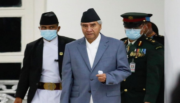 Sher Bahadur Deuba sworn in as PM for fifth time after court ruling