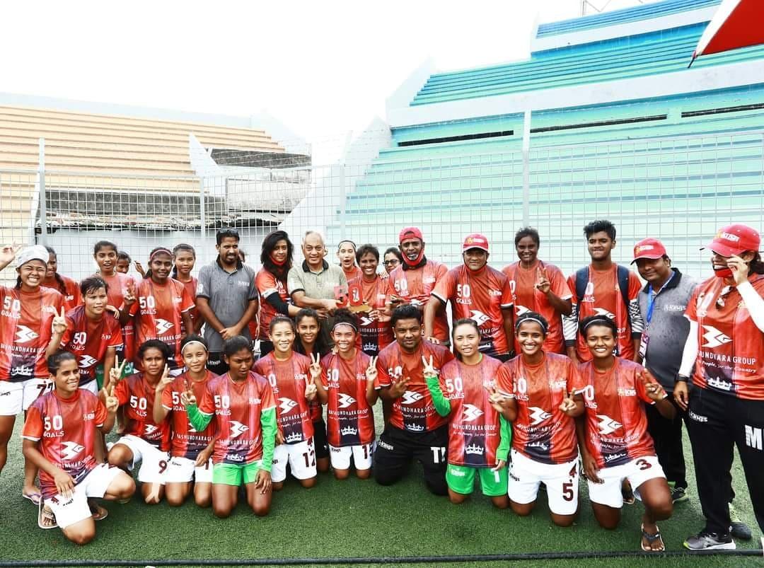 Kings ready to celebrate championship in women's league