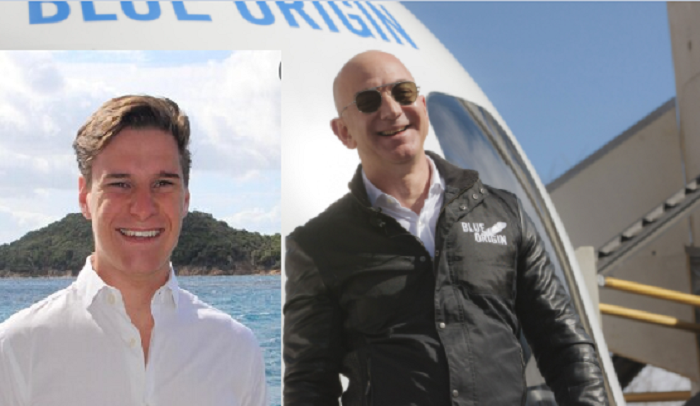 An 18-year-old is going to space with Jeff Bezos