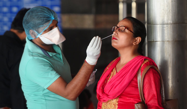 India records 38,949 fresh Covid cases, 542 deaths