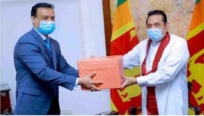 Hasina's mango gift now goes to Sri Lankan PM