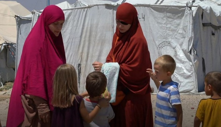 Belgium takes back mothers and children from Syria