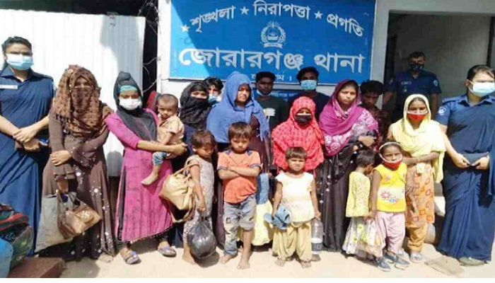 20 Rohingyas who fled Bhasanchar arrested in Chattogram