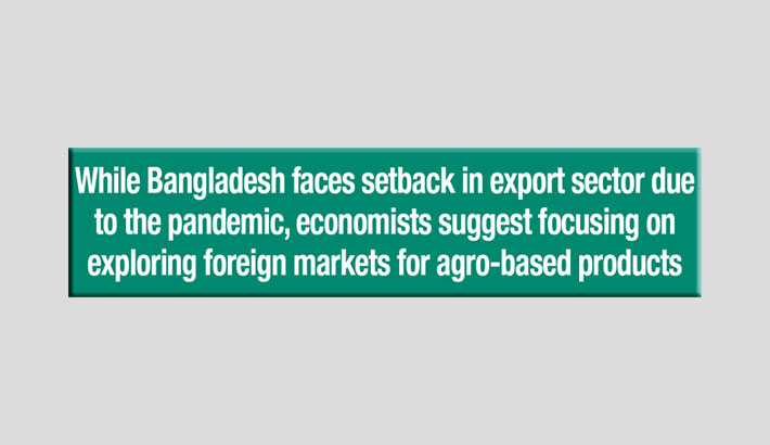 Agro-products export can boost recovery
