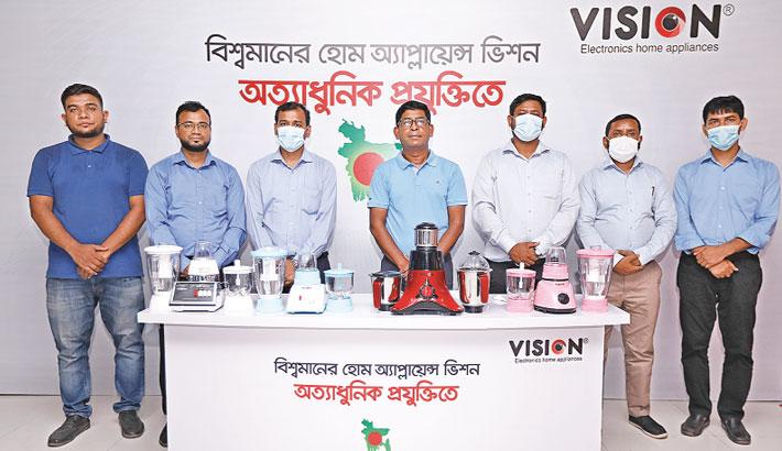 Vision's four new blender hits local mkt
