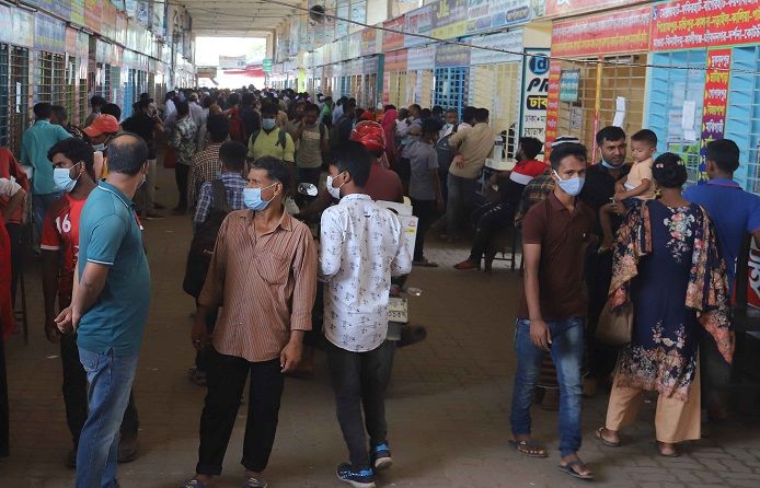 Security beefed up at bus, launch terminals