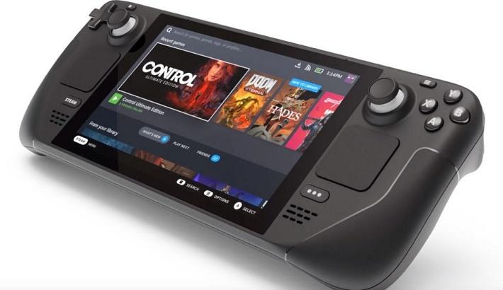 Valve reveals handheld Steam Deck PC games console