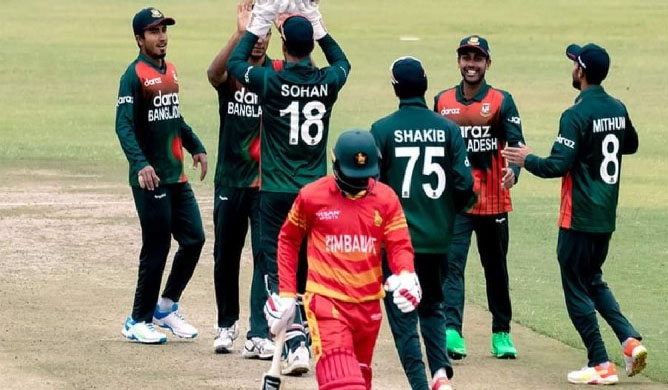 Tigers eying to wrap up ODI series against Zimbabwe